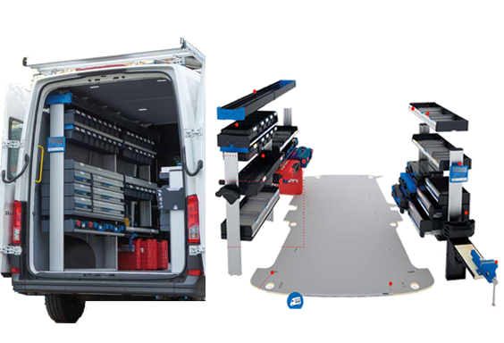 Mobiliario furgonetas
